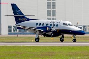 Linksair Jetstream 31 G-JIBO at Cardiff Airport. ©2014 Phil Woods